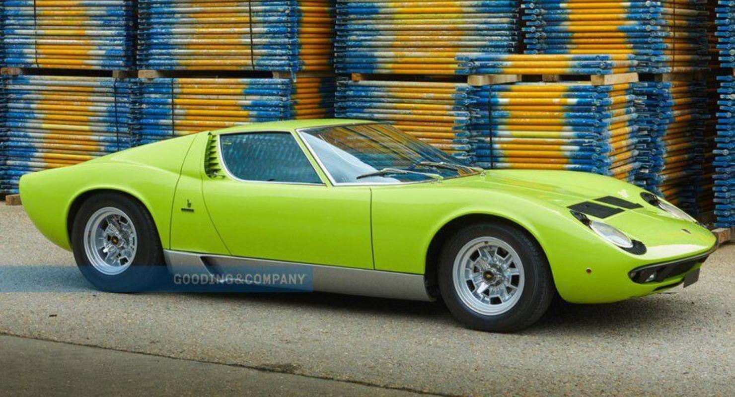 Очень редкую Lamborghini Miura планируют пустить с молотка за 104 миллиона рублей Автомобили