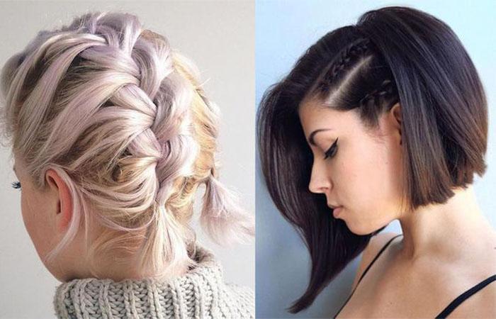 Как заплести косички от корней волос