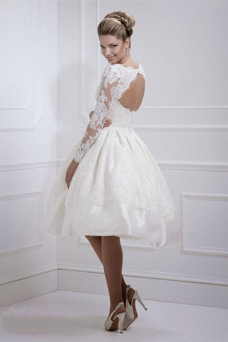 фото свадебные платья 2016 короткие