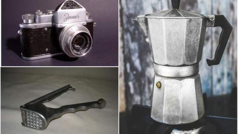 Фотоаппарат «Зенит» и кофеварка: 9 бытовых приборов из СССР, которым найдется место в современном доме.