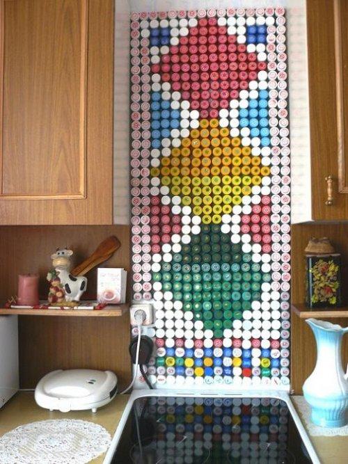 Креативные способы использования пробок от пластиковых бутылок