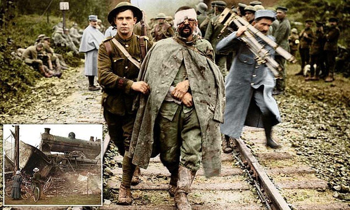 Грубая военная реальность: Первая мировая война в цвете