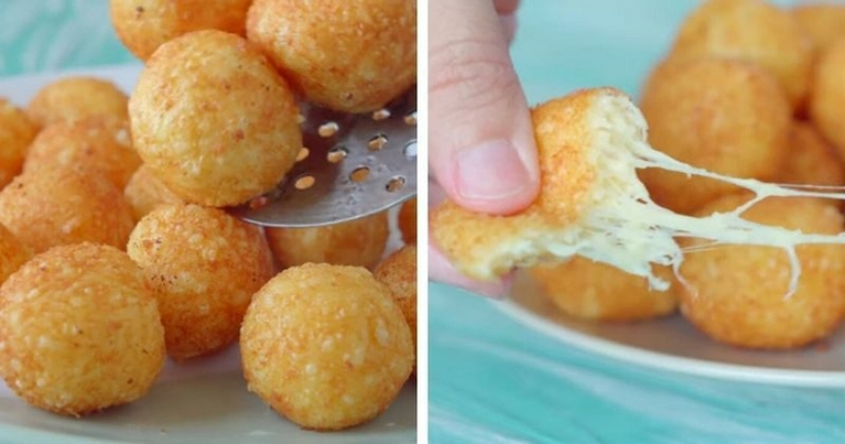 Сырные шарики — неимоверная вкуснятина за 15 минут