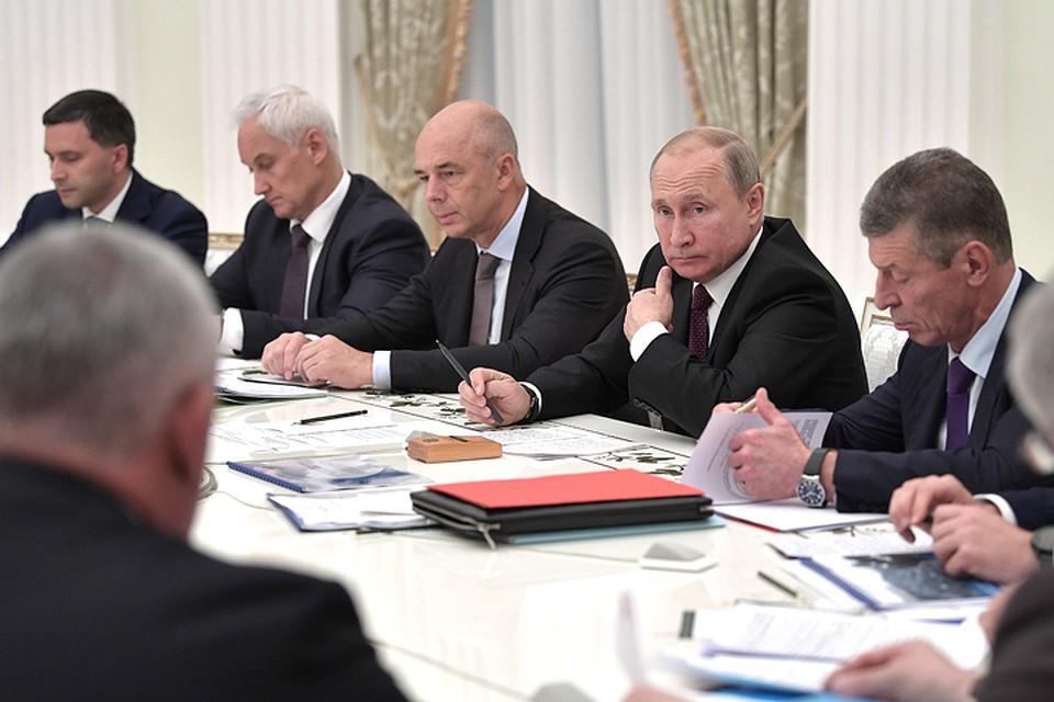 Путин вступился за льготы шахтерам