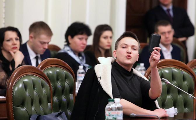 Савченко доскакалась: Револю…