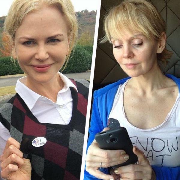 Звезды без макияжа: российские против зарубежных