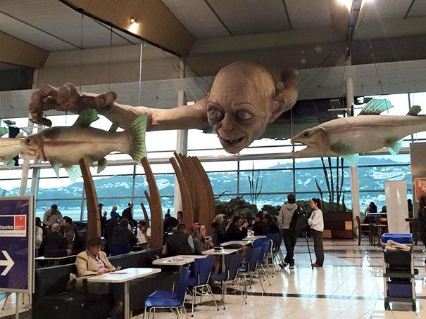 Самые нескучные аэропорты мира