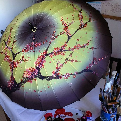 Зонты ручной работы. Вот это…