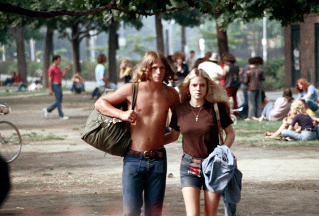 Любимый тренд американских девушек 70-х годов