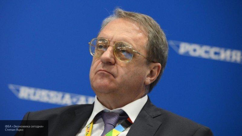 Глава МИД РФ Богданов не исключает неоднократные визиты Хафтара в Москву