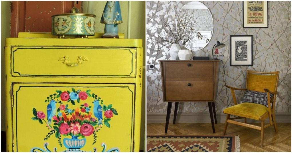 Мебель в винтажном стиле — оригинальные идеи для вашего дома
