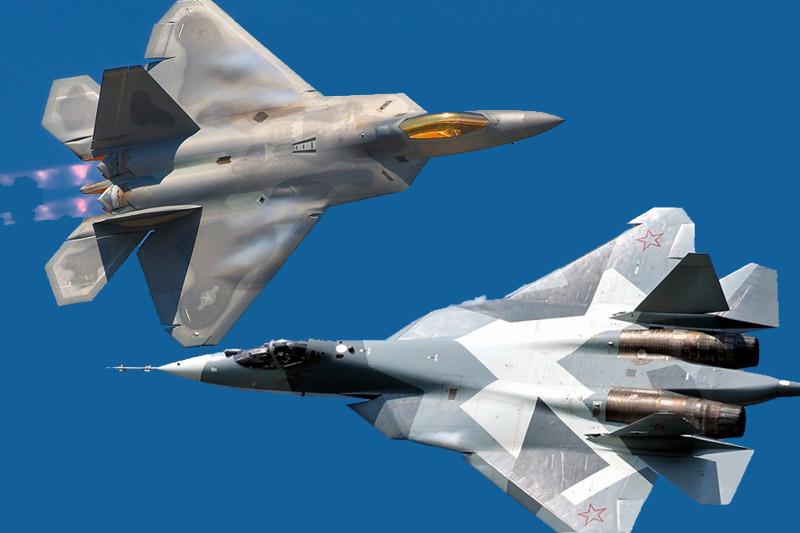 После появления Су-57 в Сирии американцы прекратили летать на F-22