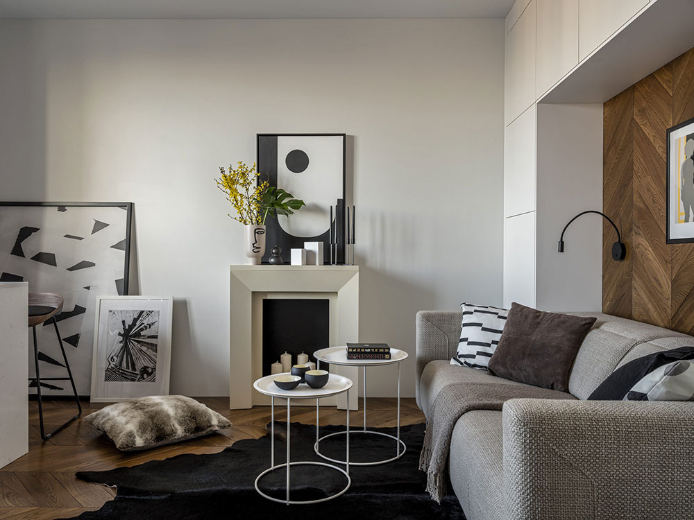 Как дизайнер Алексей Иванов превратил однокомнатную квартиру в комфортную двушку