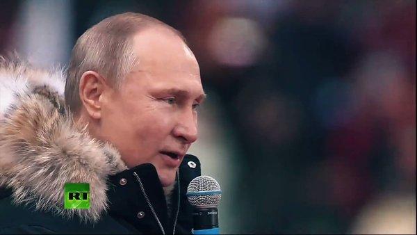 Журналист: «Путина аккуратно…