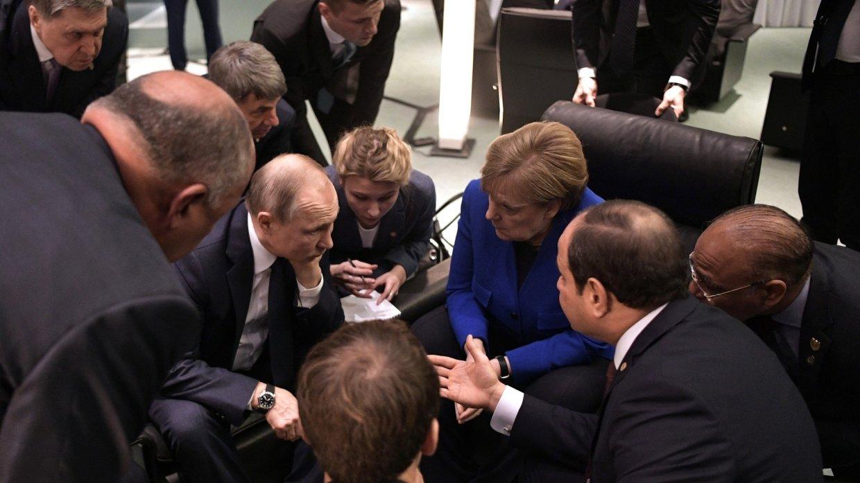 Отношение лидеров других стран к Путину на берлинской конференции расставило все точки над «i»