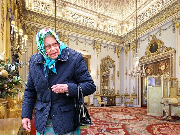7 потайных мест в Букингемском дворце, куда не пускают обычных смертных идеи для дома,интерьер и дизайн,королевская семья