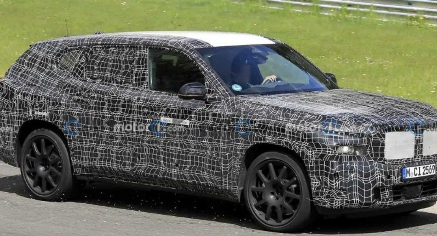 Компания BMW вывела на тесты внедорожник X8 Автомобили