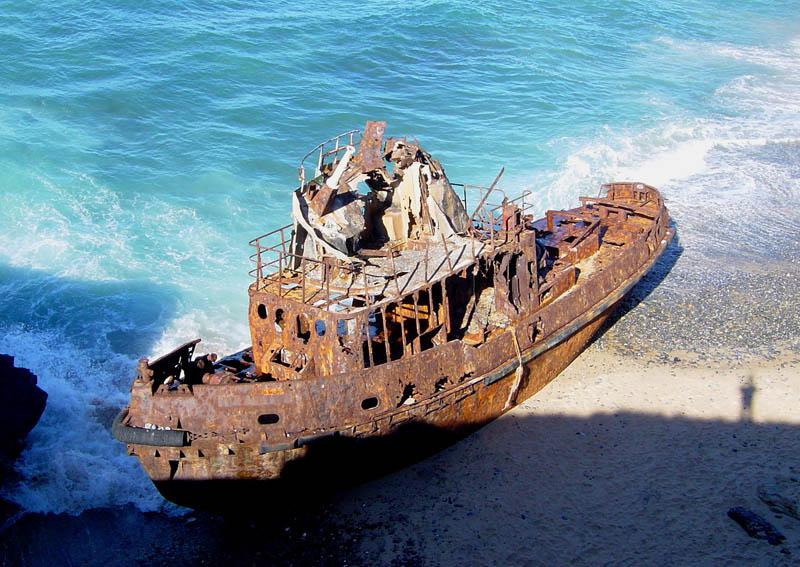 Брошенные корабли со всего мира