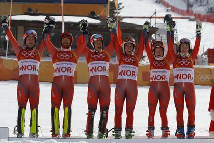 Норвегия побила исторический…