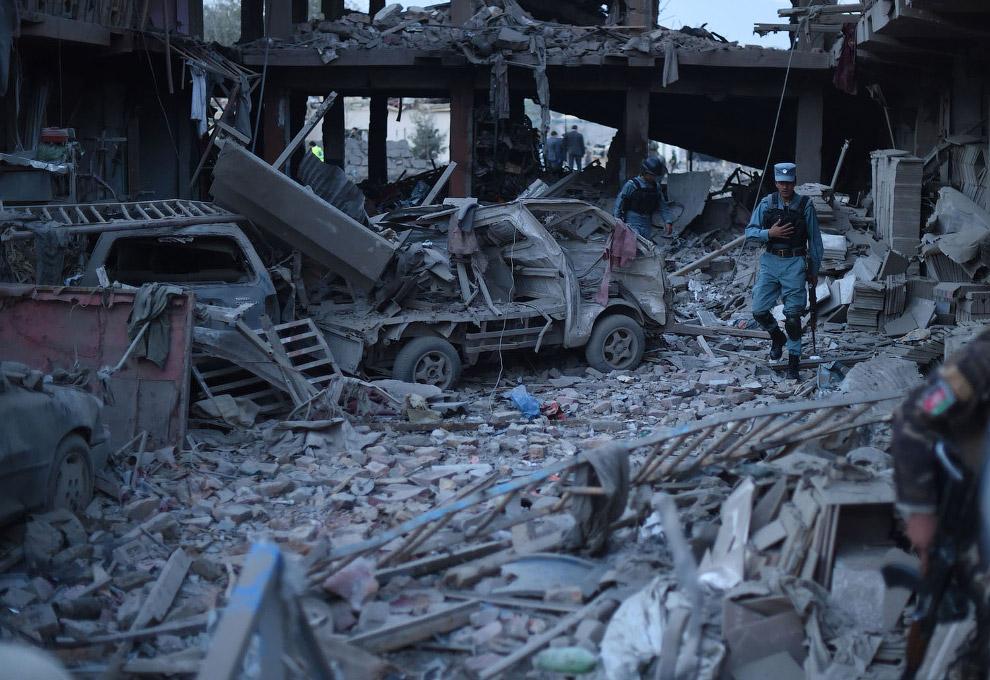 На рынке в Кабуле взорвалась очередная бомба