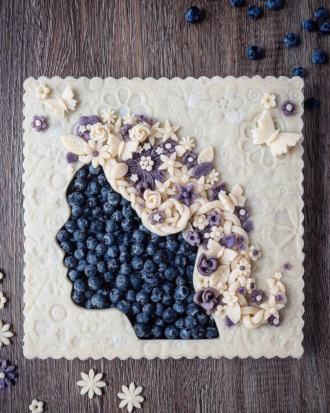 Шедевры оформления пирогов от batterednbaked