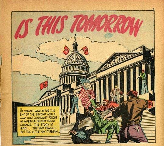 """""""Судят по себе"""" ,  или «Советская оккупация США – 1984» СССР,США"""
