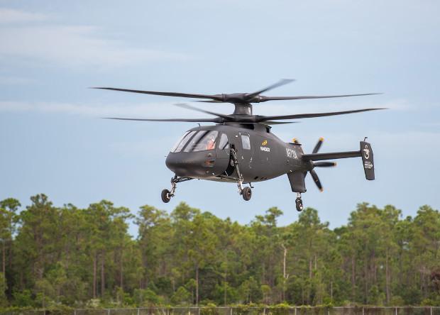 Американцы собрали второй прототип скоростного вертолета-разведчика