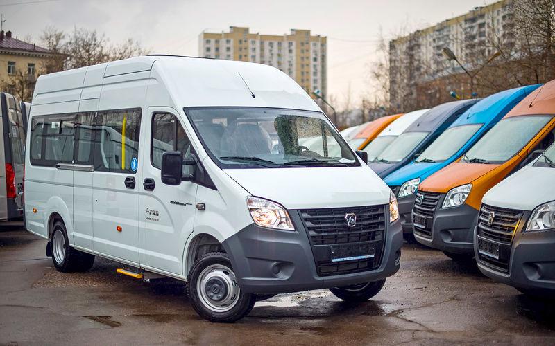 Автобус ГАЗель Next: маршрут построен