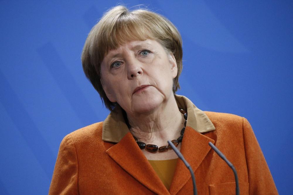Меркель поздравила Путина с …