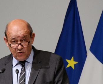 глава МИДа Франции Жан-Ив Ле Дриан