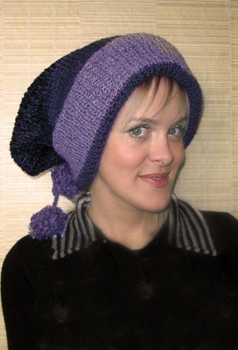 Вязание: удобная многовариантная шапка-шарф. Делаем домик-шалаш для детей