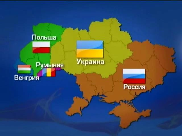 Подготовка сценария раздела Украины.