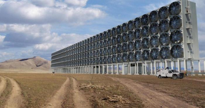 Завод, улавливающий СО2, эффективно помогает деревьям делать их работу технологии,углекислый газ,экология