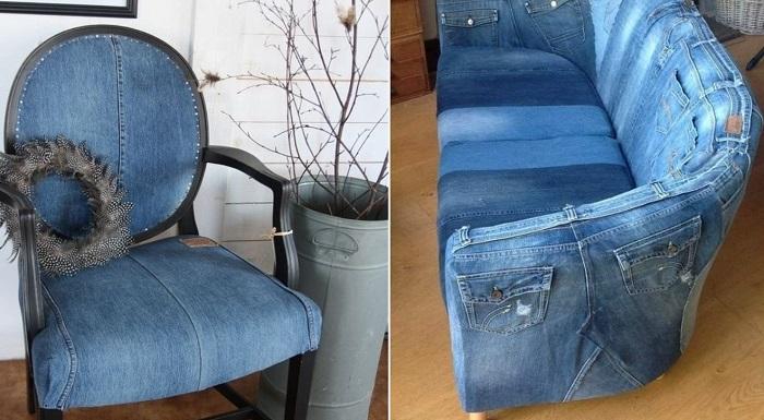 Поделки из джинсов своими руками