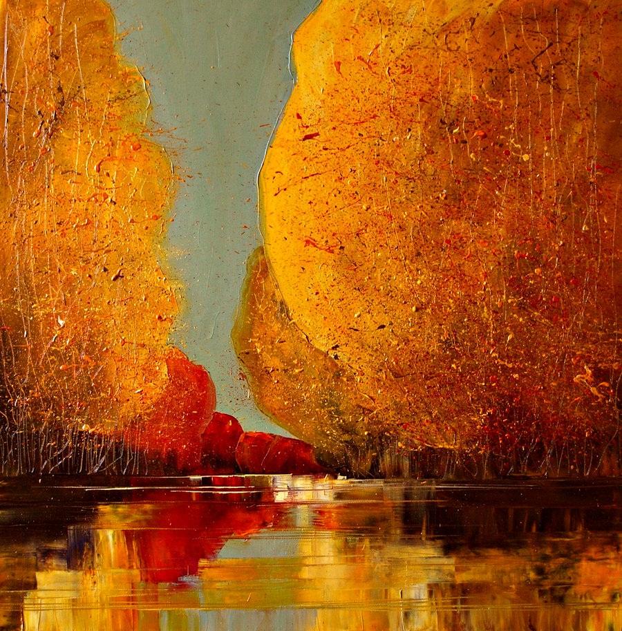 Осень от польской художницы Justina Kopania