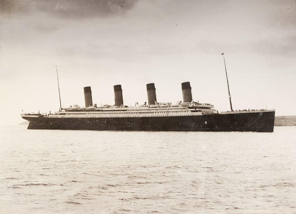 """19 снимков, сделанных на """"Титанике"""" накануне его гибели"""
