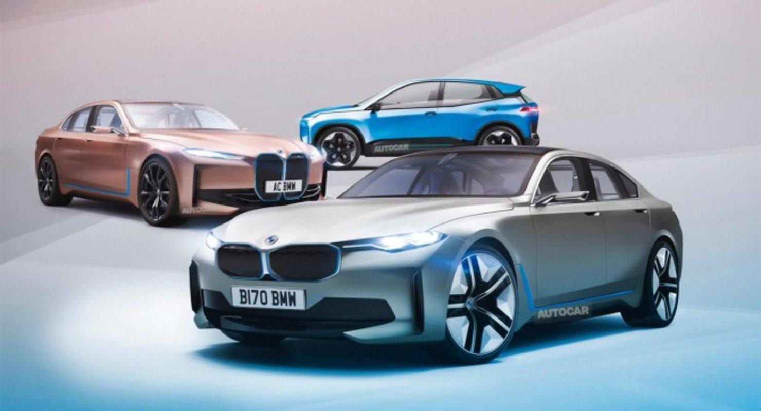В 2025 году BMW выпустит множество электрокаров, в том числе MINI и Rolls-Royce Автомобили