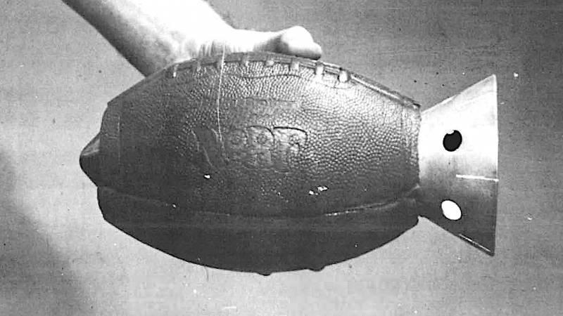 Противотанковый мяч. Забытый спортивный эксперимент Пентагона оружие
