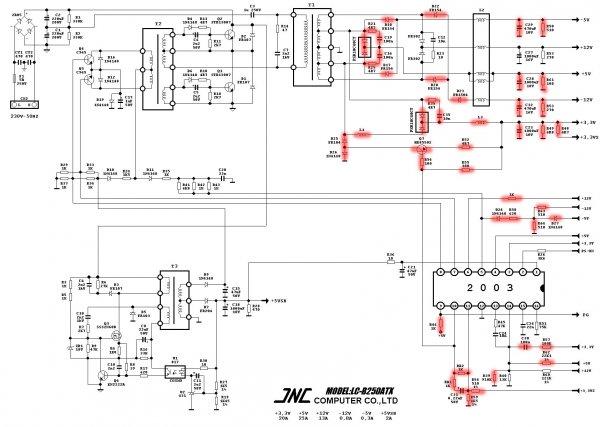 Схема доработки компьютерного блока питания под зарядное устройство для автомобильных аккумуляторов
