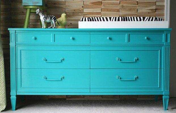 Как правильно перекрасить ламинированную мебель своими руками