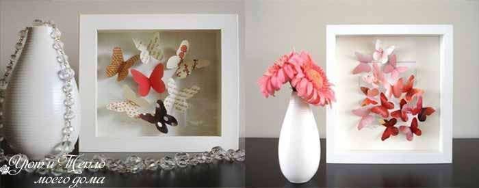 Порхающие бабочки в интерьере: как красиво украсить дом
