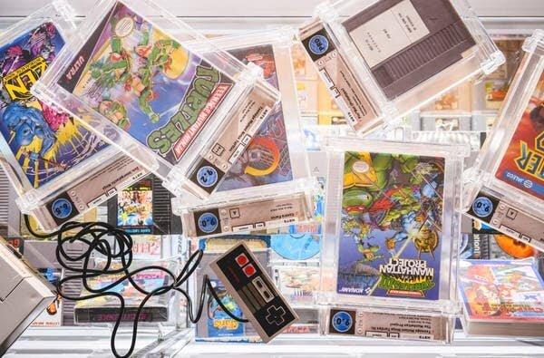 Коллекционеры платят миллионы за игры для старых консолей