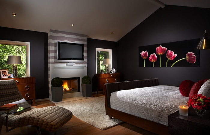 Спальня как центр активности.