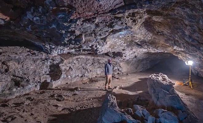 Люди переехали в новый дом и нашли под строением сеть туннелей, которые создала лава Культура