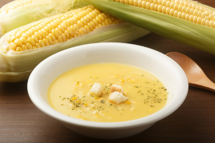 крем суп из кукурузы