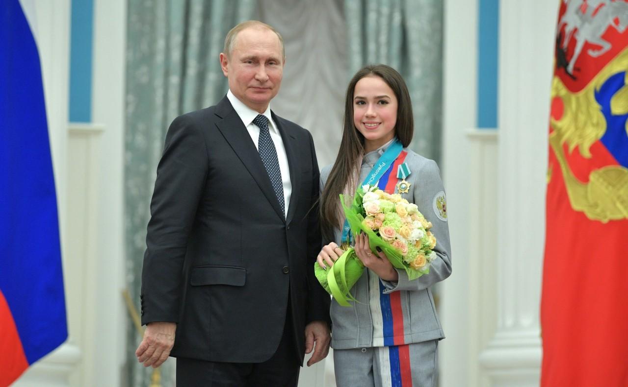 Вручение государственных наград победителям XXIII Олимпийских игр в Пхёнчхане