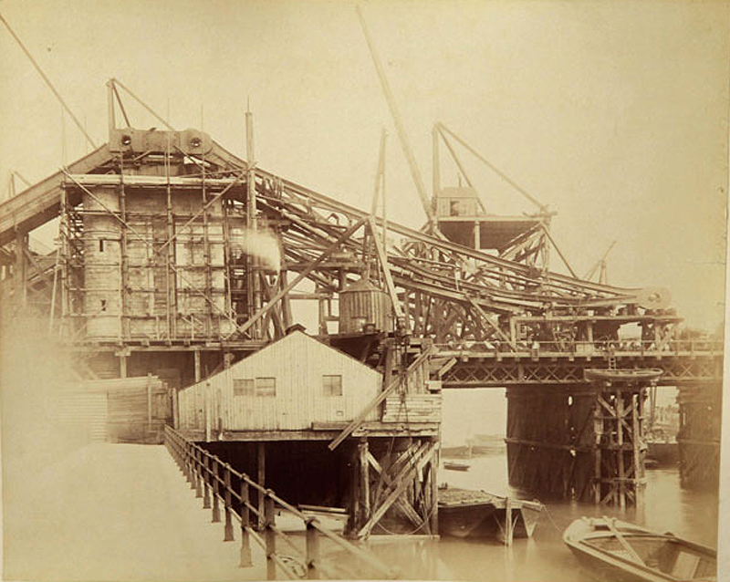 Какстроился Тауэрский мост интересное,история,мосты,фотография