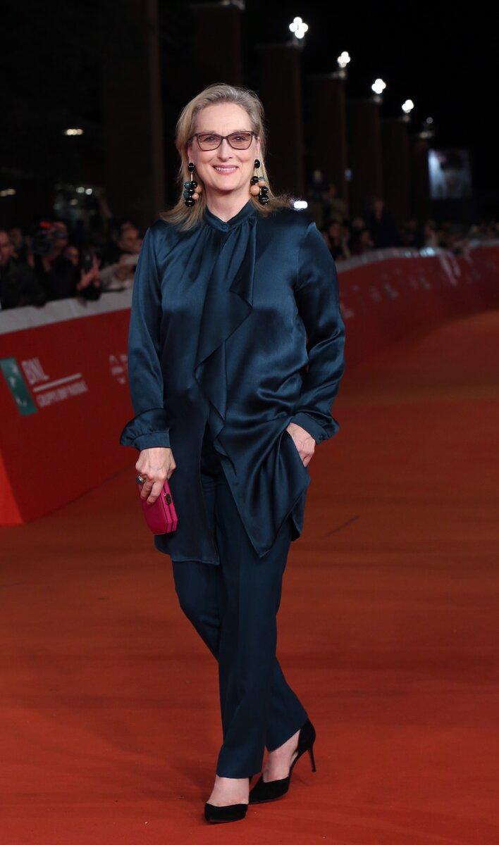 Стиль 70-летней Мерил Стрип. Посмотрите, что можно взять себе на заметку актрисы,знаменитости,Мерил Стрип,мода и красота,стиль