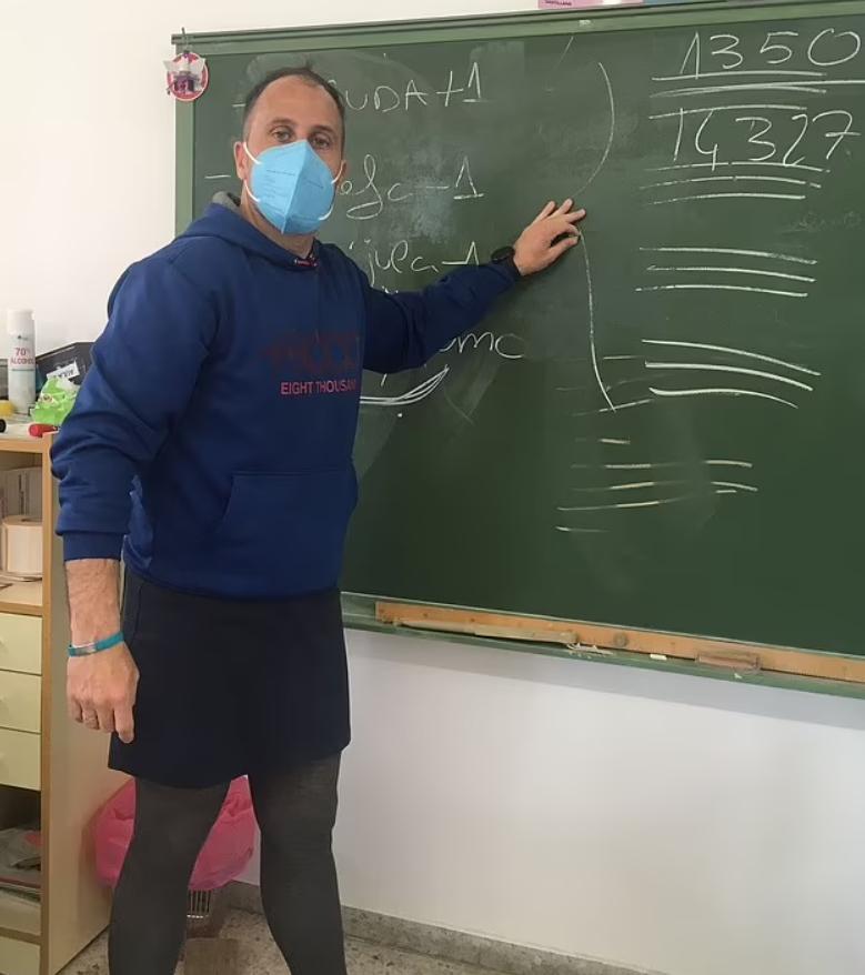 Учителя-мужчины повсей Испании начали ходить наработу вюбках clotheshavenogender»,Политика