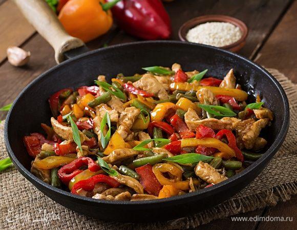 Все включено: готовим ужин быстро и вкусно в одной сковороде вкусные новости,рецепты,ужин
